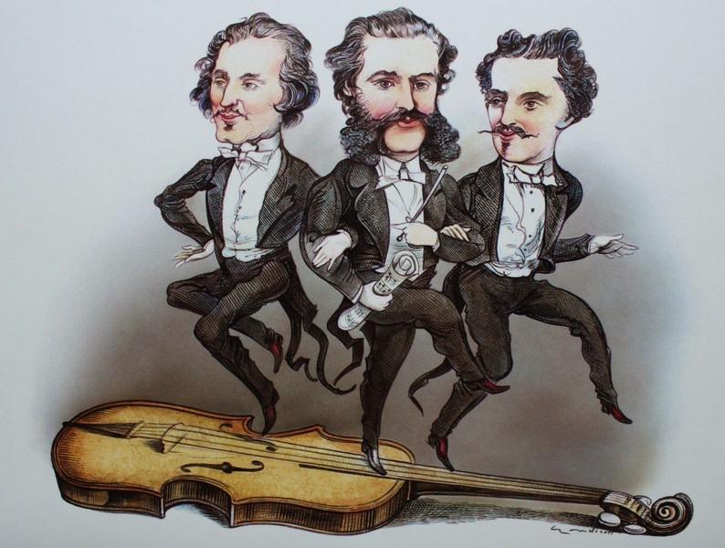 Los Strauss, protagonistas del Año Nuevo