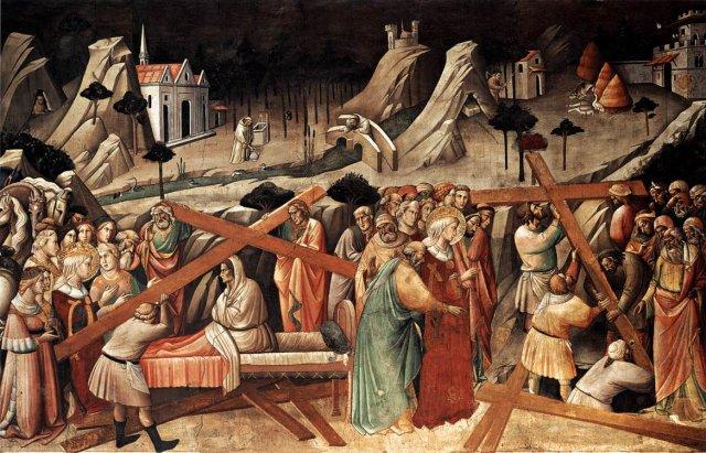 El descubrimiento de la cruz de Cristo