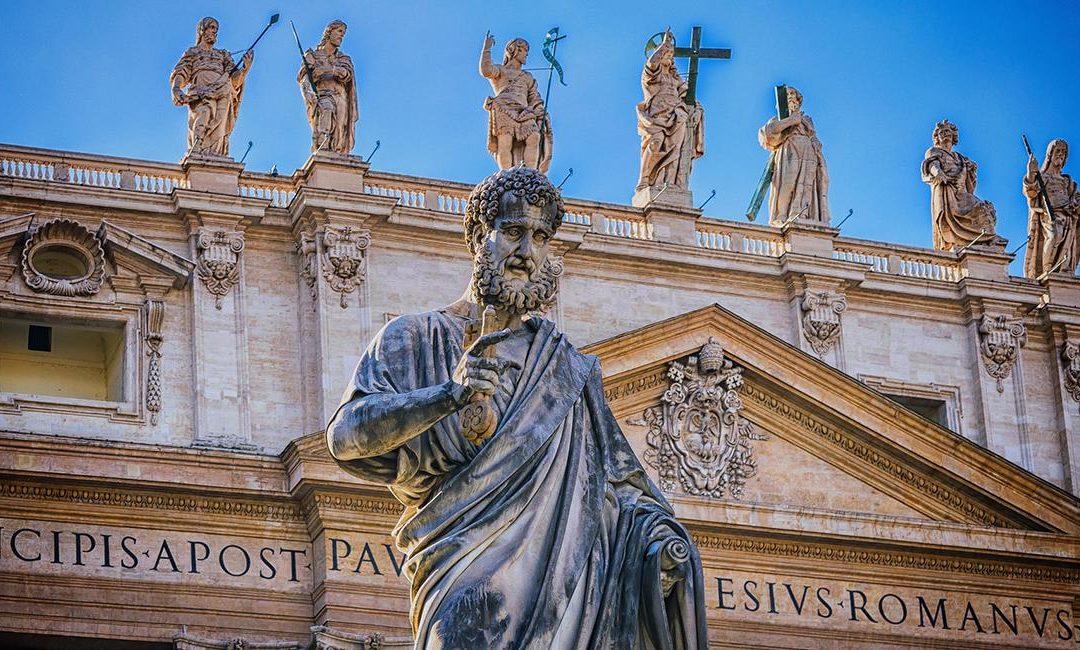En busca de la tumba de San Pedro